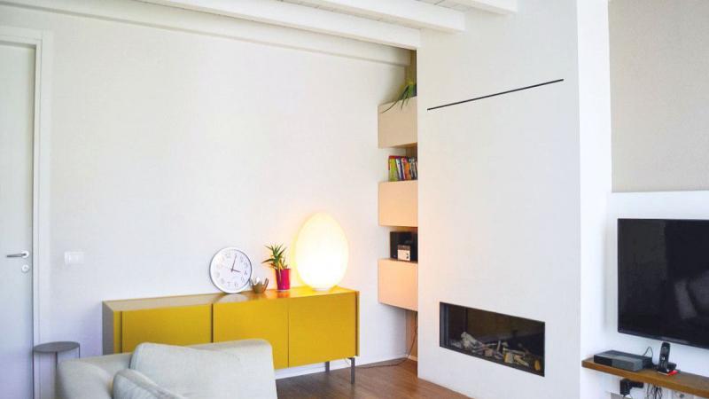 Giallo Pastello Interior Design Brescia - Rinnovo zona living