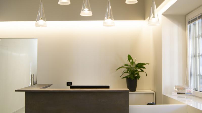 Giallo Pastello Interior Design Brescia - Restyling Reception