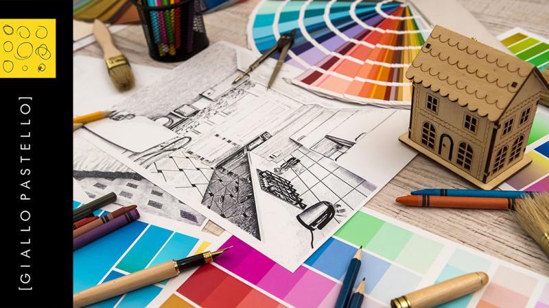 Ristrutturazione Casa Brescia - Ristrutturazione - Giallo Pastello - Interior Design
