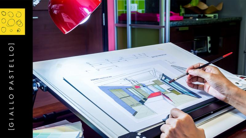 I 9 punti per la realizzazione di un progetto di successo - Giallo Pastello Interior Design Brescia