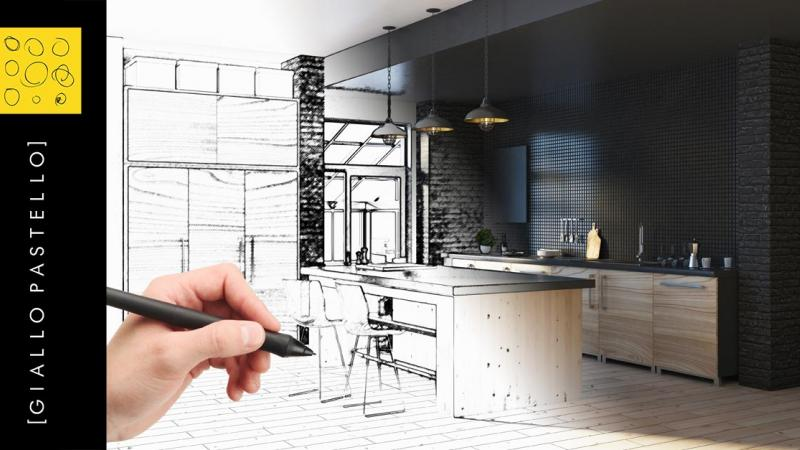 Ristrutturare la cucina: la guida completa - Giallo Pastello Interior Design Brescia